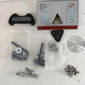 Harley Davidson NOT Complete License Plate Holder Base Plate Extra Parts Lot