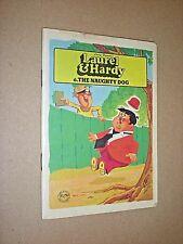 LAUREL & HARDY. THE NAUGHTY DOG. no.6. LARRY HARMON. SLIM CHILDREN'S BOOK