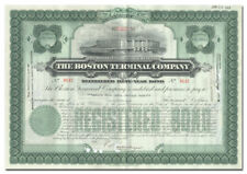 Boston Terminal Company Bond Certificate
