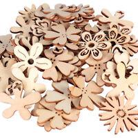 DIY Crafts Handmade Decoration Wood Piece Embellishments Scrapbooking Ornaments