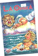 """LIBRO """"LA ODISEA"""", ILUSTRADA A COLORES PARA NIÑOS, EN ESPAÑOL"""