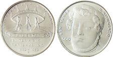 SAN  MARINO   SAINT  MARIN   500  LIRE  ARGENT  1982  GARIBALDI  FLEUR  DE  COIN