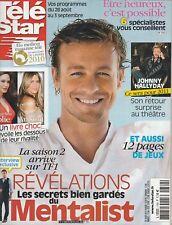 Télé Star N°1769 - 23/08/2010 -Simon Baker / The Mentalist - D. Boreana - Dawson