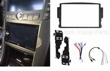 2004-2008 Acura TL Double 2 Din Dash Kit with Sub Woofer Amplified Wire Harness