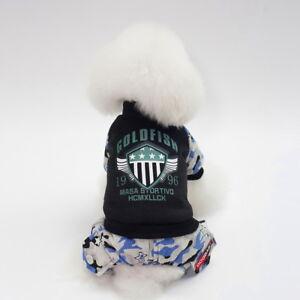 Pet Dog Halloween Winter Vest Warm Jumpsuit Clothes Jacket Coat Hoodie Apparel