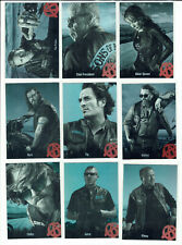 Sons of Anarchy Seasons 1-3 Complete 11 Card Character Biographies Set C01-C11