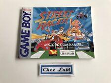 Notice - Street Racer - Nintendo Game Boy - PAL EUR