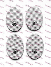 Small OVAL Replacement Electrode Massage Pads (20) AURAWAVE AURA WAVE Compatible