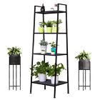 4-Tier Ladder Shelf Multifunctional Bookshelf Plant Flower Stand Storage Rack