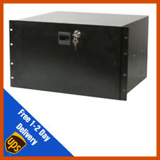 Cajones Para Rack De Bloqueo 19 in (approx. 48.26 cm) 6u - 372 mm almacenamiento de almacenamiento de información, micrófono de estudio