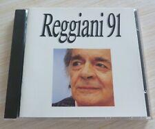 CD ALBUM REGGIANI 91 SERGE REGGIANI 10 TITRES 1990
