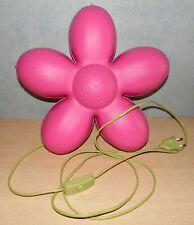 Ikea Lampe Smila Blomma Blume Pink Wandlampe Leuchte Wandleuchte Kinderlampe