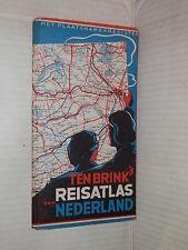 TEN BRINK S VAN REISATLAS NEDERLAND Ten Brink s Uitgeversmij 1970 viaggi libro