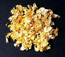 200 mg Gold-Flocken 23 Karat Gold essbares Gourmet-Gold Blattgold Speisegold