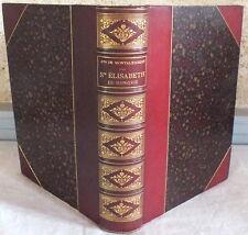 livre ancien 1893 Sainte Elisabeth de Hongrie par le Comte de Montalembert