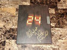 Kiefer Sutherland Rare Hand Signed Prop CTU Operations Manual Book 24 Jack Bauer