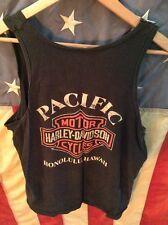 True Vintage Harley Davidson shirt tank biker easyriders 3D emblem 80s vtg 70s
