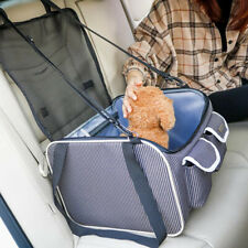 DURABLE PET CAR SEAT COVER BAG CATS DOGS PUPPY CARRIER MESH TRAVEL HANGING BAG