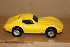 Tonka Pressed Steel Yellow Corvette Good Played With Condition