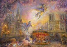 Puzzle Grafika 2000 Teile - Josephine Wall - Magical Merry Go Round (59192)
