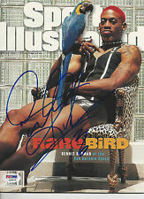 DENNIS RODMAN (Spurs) Signed SPORTS ILLUSTRATED with PSA/DNA COA (NO Label)