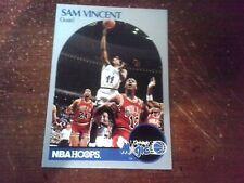 Sam Vincent & Michael Jordan 12 UNIFORM 1990-91  Hoops Card #223 lot of 1