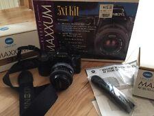 Vintage Minolta Maxxum 3xi Kit As Is