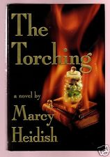 THE TORCHING-WITCH BURNING CURSE-MARCY HEIDISH SIGNED 1ST-VERY GOOD CONDITION