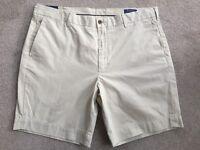 Polo Ralph Lauren Sable Droit Ajusté NEWPORT Short Taille 91.4cm BNWT Détail