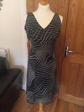 MEXX | Dress Size 8 | Lovely EVENINGWEAR OR WORKWEAR | Polka Dot | 60s 70s