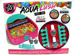 Angel Academe Aqua Lush Foot Spa Aqua Jelly Bead Vibrating Pedicure Station NIB