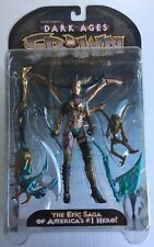 SPAWN SKULL QUEEN DARK AGES 1 McFarlane Toys Ultra Action Figure NewOnCard 1998