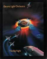ELECTRIC LIGHT ORCHESTRA 1978 THE BIG NIGHT TOUR CONCERT PROGRAM BOOK BOOKLET