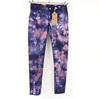 MAISON SCOTCH Damen Jeans Hose La Parisienne W26 Blau Straight Hose NP 89 NEU