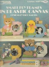 Leisure Arts Small Fry Frames in Plastic Canvas pattern book - 1986