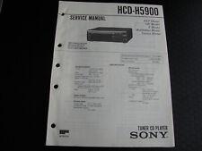 Original Service Manual Schaltplan Sony HCD-H5900