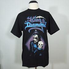KING DIAMOND Band Logo Skull T-Shirt Black Men's size M (NEW)