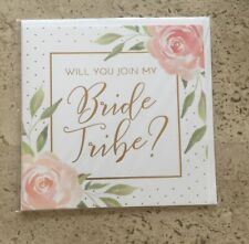 L@@k!!  Paper Destiny/Papyrus 'Will You Join My Bride Tribe' Card!