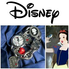 Disney Snow White Charm Bracelet Watch Poison Apple The Fairest of The All