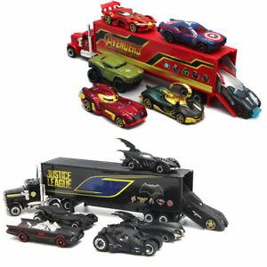 7PCS Batmobile Avengers Truck & Car Toy Vehicle Model Car Kids Boys Gift