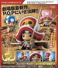 JAPAN Mega House One Piece P.O.P. EDITION Z Figure Tony Tony CHOPPER Battle ver.