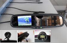 """Rear view mirror+3.5"""" backup camera display,fits Audi,Golf,Passat,Tiguan,Jetta"""