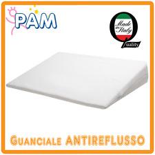 Cuscino antireflusso antiacaro antisoffoco sfoderabile per lettino e carrozzina