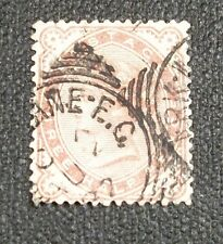 Britain Stamp 1881 MARK LANE CANCEL Queen Victoria 1 12 Pence Three half Brown