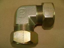 "NEW Parker 24-EBU-S 1-1/2"" Union Elbow Ferulok Compression Tube Fitting 24EBUS"