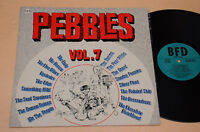 PEBBLES LP ORIGINAL FIRST PUNK ERA 1°ST ORIGINALE 1979 AUDIOFILI TOP NEAR MINT