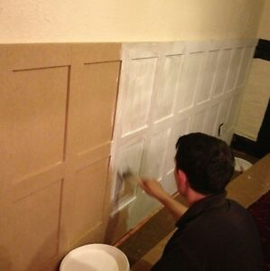 Wall Panelling MOISTURE RESISTANT mdf Elizabethan Panels 2.3m & Made to order