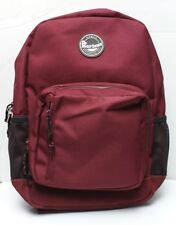 Dr Martens NWT Cherry Red Backpack Logo Patch Suede Bottom
