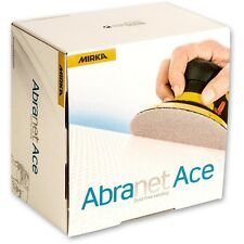 MIRKA Abranet ACE 150mm abrasive sanding discs (pack of 10 pads)