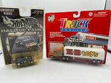 New ListingRoad Tough Kb Toys Tractor Truck w Trailer & Hot Wheels Hof Ferrari Modena Lot